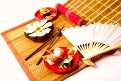 japoński posiłek Zdjęcia Stock