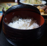 japoński ryżowy biel Obraz Royalty Free