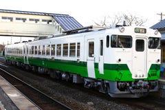 japoński stary pociąg zdjęcie stock