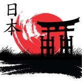 japoński styl ilustracji