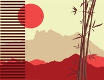 japoński temat ilustracja wektor