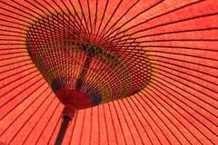 Japoński tradycja parasol zdjęcia stock