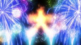 Japoński tradycyjny ogień Zdjęcie Royalty Free
