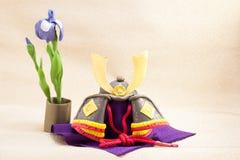 Japoński wakacyjny ornament dla chłopiec dnia dzwonił Kodomo Żadny Cześć Zdjęcie Royalty Free