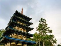 japoński wieży fotografia stock