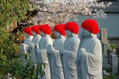 japońskie posągi Zdjęcie Royalty Free