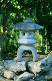 japońskiego lampionu kamień zdjęcie royalty free