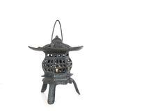 Japońskiego stylu herbacianego domu świeczki właściciel Obraz Royalty Free