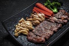 Japońskiego stylu piec na grillu wołowina Obraz Stock