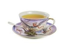 Japońskiej porcelany herbaciana filiżanka Zdjęcia Stock