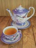 Japońskiej porcelany herbaciana filiżanka Zdjęcie Stock