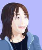 japończycy dziewczyna Zdjęcie Royalty Free