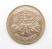 Japończyk moneta zdjęcie stock