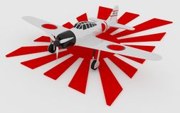 Japończyk Zero Fotografia Stock
