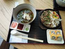 Japończyka BBQ set Obrazy Royalty Free