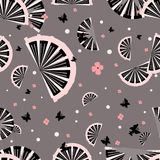 japończyka bezszwowy deseniowy ilustracji