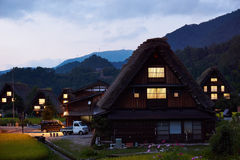 Japończyka gospodarstwa rolnego dom Zdjęcia Royalty Free