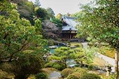 Japończyka ogród, Kyoto Obraz Stock