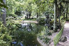 Japończyka ogród w Parkowym Santos Dumont, Sao Jose dos campos, Sao Paulo, Brazylia Fotografia Stock