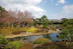 Japończyka ogród w wiosna czasie Zdjęcie Stock