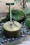 Japończyka ogródu wody baseny Obraz Royalty Free
