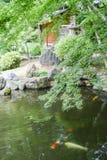 Japończyka Stylu Ogród zdjęcie stock