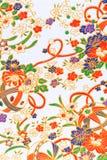 Japończyka wzoru papier Obrazy Royalty Free