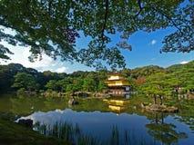 Japão Kyoto Kinkakuji Foto de Stock Royalty Free