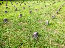 Japońscy grobowowie w Malezja obraz stock