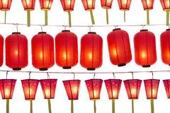 Japońscy lampiony Zdjęcia Royalty Free