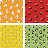 Japońscy wzory Obrazy Stock