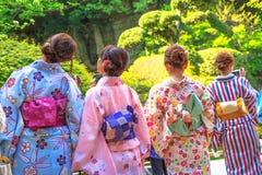 Japońscy zen kimona Zdjęcie Stock