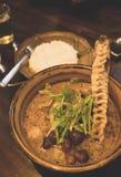 Japońska curry polewka Obrazy Royalty Free