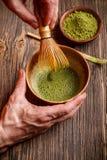 Japońska herbaciana ceremonia Obraz Royalty Free