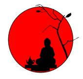 japońska herbaty Royalty Ilustracja