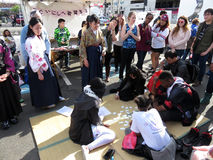Japońska Karciana gra Fotografia Royalty Free