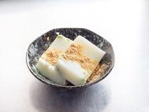 Japońska kuchnia, Avocade mleka agaru galareta Zdjęcie Royalty Free