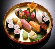 Japońska kuchnia - suszi Obrazy Royalty Free
