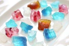 Japoński agar galarety cukierki Obrazy Stock