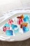 Japoński agar galarety cukierki Zdjęcie Stock