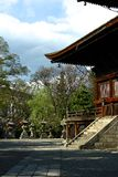 Japoński budynek Obraz Royalty Free