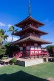 Japoński budynek w Maui Fotografia Royalty Free