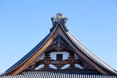 Japoński Dachówkowy dach Obraz Stock