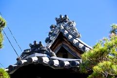 Japoński Dachówkowy dach Zdjęcie Royalty Free