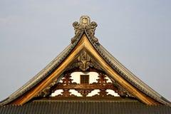 Japoński Dachówkowy dach Obrazy Royalty Free