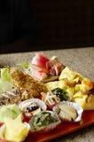 Japoński jedzenie set Obrazy Stock