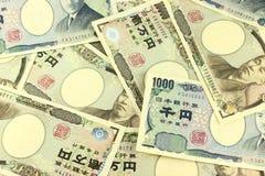 Japoński jen Obrazy Stock