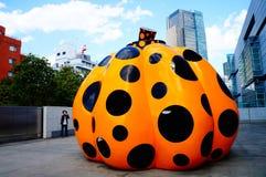 Japoński kultury ayuki kusama projekt Zdjęcie Royalty Free