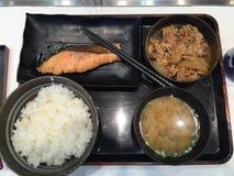 japoński lunch Zdjęcia Royalty Free