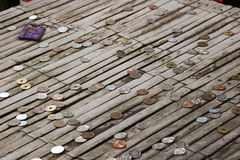 japoński monety Zdjęcia Stock